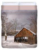 Storm Shed Duvet Cover