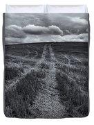 Storm Tracks Duvet Cover
