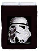 Storm Trooper Helmet Duvet Cover