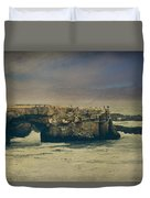 Storms Always Pass Duvet Cover by Laurie Search