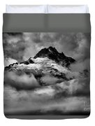 Storms Over Tantalus Duvet Cover
