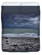 Storm's Rolling In Duvet Cover