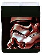 Stormtrooper Helmet 26 Duvet Cover