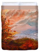 Stormy Autumn Day Duvet Cover