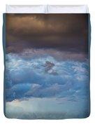 Stormy Blues - Casper Wyoming Duvet Cover