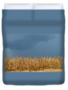 Stormy Corn Duvet Cover