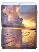 Stormy Glow Duvet Cover