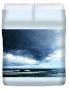 Stormy - Gray Storm Clouds By Sharon Cummings Duvet Cover