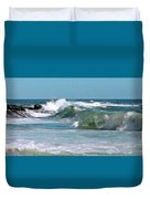 Stormy Lagune - Blue Seascape Duvet Cover