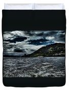 Stormy Loch Ness Duvet Cover