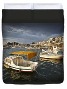 Stormy Mikrolimano Duvet Cover