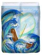 Stormy Sails Duvet Cover