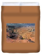 Stormy Skies In Canyonlands Duvet Cover