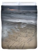 Stormy Skies Over The North Sea Duvet Cover