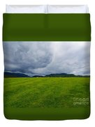 Stormy Sky Above Castlerigg Stone Circle Duvet Cover
