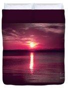 Stormy Sunrise Duvet Cover