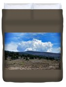 Stormy Wyoming Fall Duvet Cover
