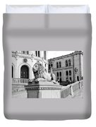 Stortinget Parliament Building Oslo Norway Duvet Cover
