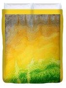 Stormy Mesa Original Painting Duvet Cover