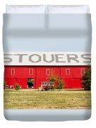 Stovers Farm Market Berrien Springs Michigan Usa Duvet Cover