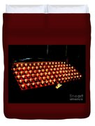 St.patricks Cathedral Candles Duvet Cover
