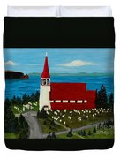 St.philip's Church 1999 Duvet Cover