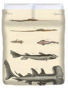 Strange Fish Duvet Cover