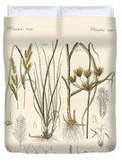 Strange Grasses Duvet Cover