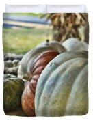 Strange Pumpkins Duvet Cover