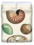 Strange Snails And Clams Duvet Cover
