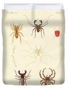 Strange Spiders Duvet Cover