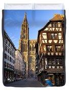 Strasbourg Cathedral Duvet Cover