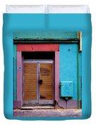 Strasbourg Door Duvet Cover