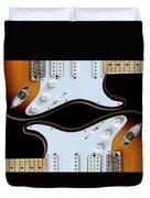 Electric Guitar 5 Duvet Cover
