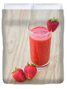 Strawberry Juice Duvet Cover