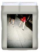 Strawberry Short Walk Duvet Cover