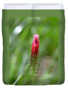 Strawberry Wildflower Duvet Cover