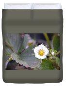 Strawberrys Flower Duvet Cover
