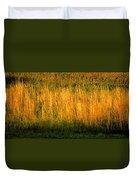 Straw Landscape Duvet Cover