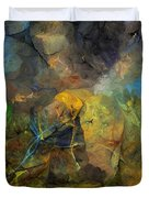 Stream Bed On A Sunny Day Duvet Cover