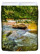 Stream II Duvet Cover