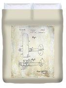 1929 Stearman Patent Drawing Duvet Cover