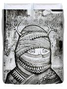 Mysterious Cochin Duvet Cover