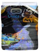 Street Art Valparaiso Chile 5 Duvet Cover