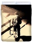 Street Artist Duvet Cover