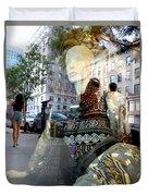Street Fashion Duvet Cover