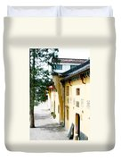 Street In Anhui Province China Duvet Cover