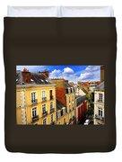 Street In Rennes Duvet Cover