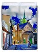 Street Life Series 01 Duvet Cover
