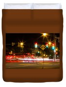 Street Lights Duvet Cover